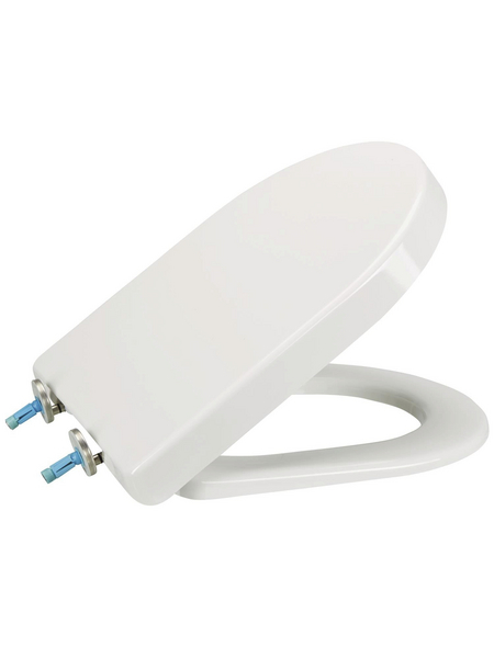 SANITOP-WINGENROTH WC-Sitz »Deluxe«, Duroplast, oval, mit Softclose-Funktion