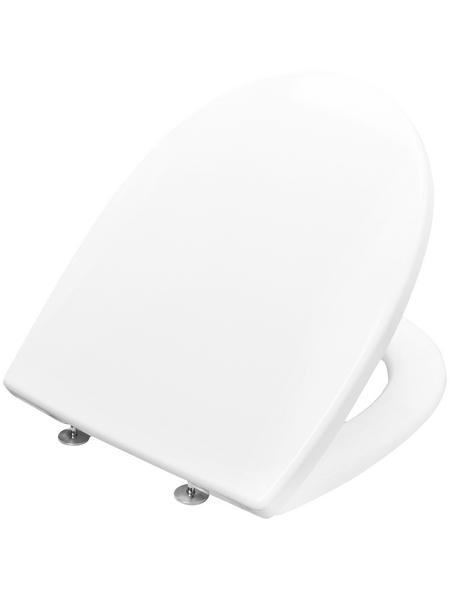 CORNAT WC-Sitz Duroplast,  D-Form
