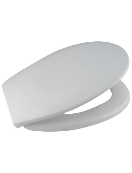 WELLWATER WC-Sitz, Duroplast, oval mit Softclose-Funktion