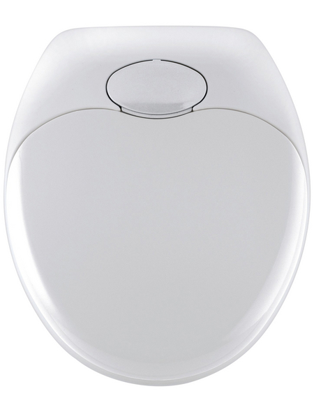 WENKO WC-Sitz »Family«, Thermoplast, oval, mit Softclose-Funktion