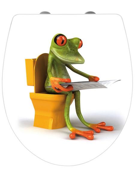 WENKO WC-Sitz »Frog News«, Frosch