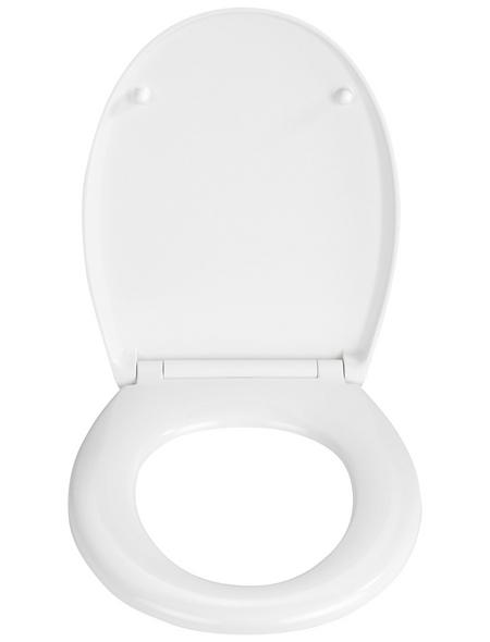 WENKO WC-Sitz »Furlo« aus Duroplast,  oval mit Softclose-Funktion