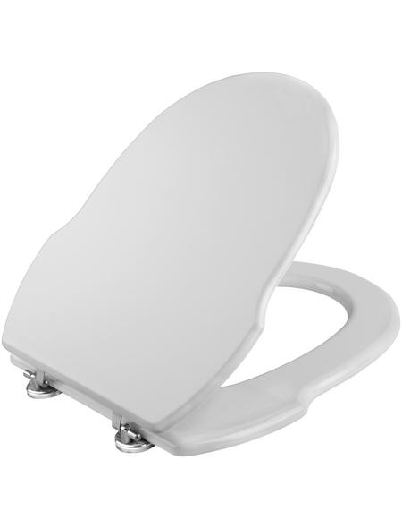 CORNAT WC-Sitz »GRECIA« mit Holzkern,  oval