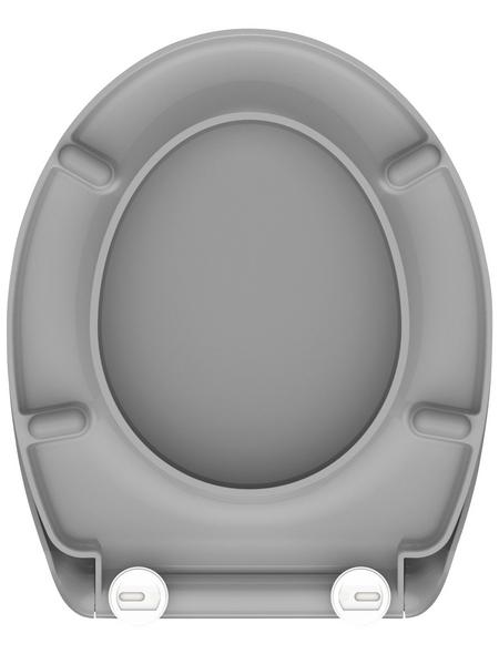 SCHÜTTE WC-Sitz »Grey« aus Duroplast,  oval