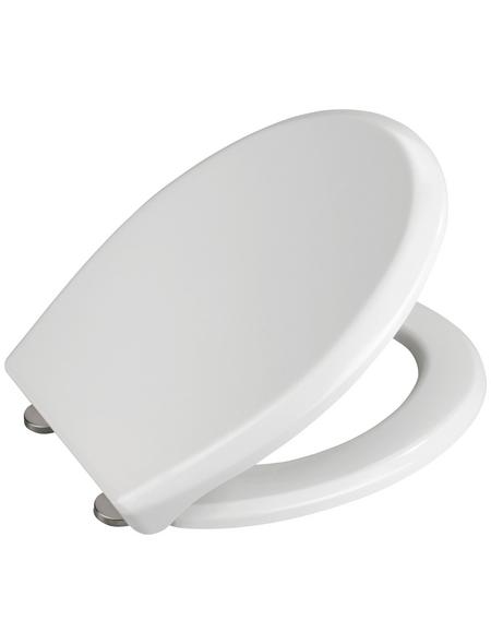 WENKO WC-Sitz »Gubbio« aus Duroplast,  oval mit Softclose-Funktion