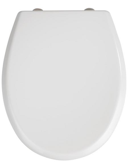 WENKO WC-Sitz »Gubbio«, Duroplast, oval, mit Softclose-Funktion