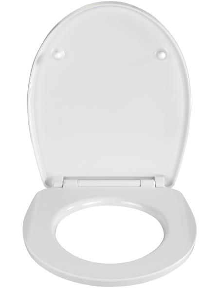 WENKO WC-Sitz »Heartbeach«, muscheln|herz|strand