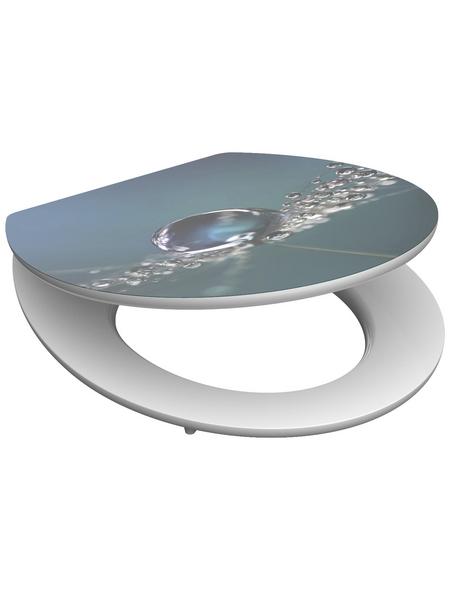 SCHÜTTE WC-Sitz Holzkern,  oval