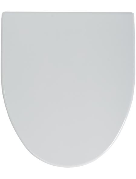 SANITOP-WINGENROTH WC-Sitz »Igeno«, Duroplast, D-Form, mit Softclose-Funktion