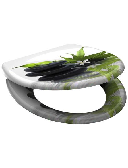SCHÜTTE WC-Sitz »Jasmin« aus Duroplast,  oval mit Softclose-Funktion