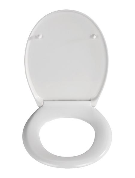 WENKO WC-Sitz »Köln«, Duroplast, oval, mit Softclose-Funktion
