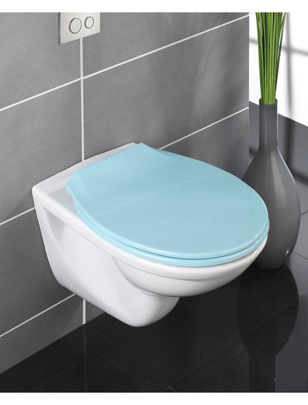 WENKO WC-Sitz »Kos« aus Thermoplast,  oval mit Softclose-Funktion