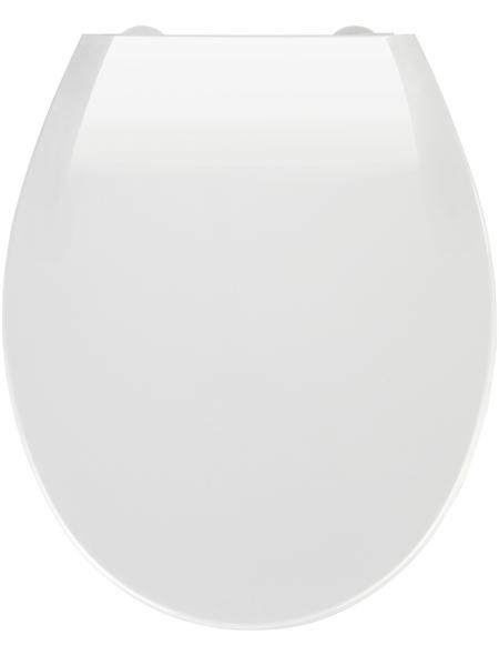WENKO WC-Sitz »Kos«, Thermoplast, oval, mit Softclose-Funktion