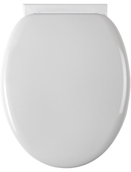 SCHÜTTE WC-Sitz, Kunststoff, oval, mit Softclose-Funktion