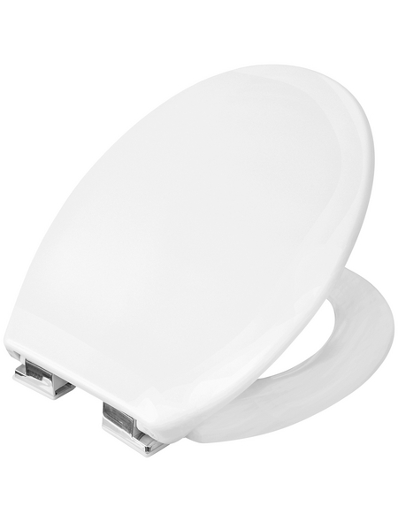 CORNAT WC-Sitz Kunststoff,  oval mit Softclose-Funktion