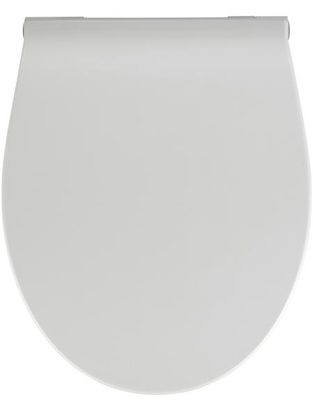 WENKO WC-Sitz »LED«, Duroplast, oval, mit Softclose-Funktion