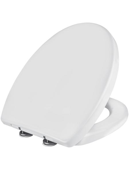 WELLWATER WC-Sitz »Lesina«, Duroplast, D-Form mit Softclose-Funktion