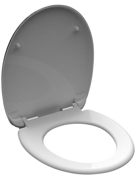 SCHÜTTE WC-Sitz »LIGHTHOUSE« aus Duroplast,  oval mit Softclose-Funktion
