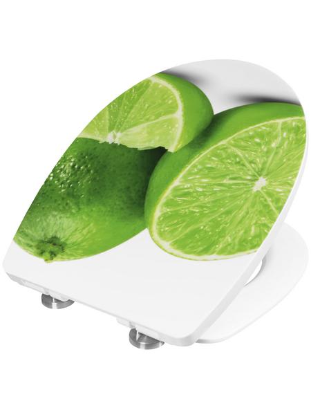 CORNAT WC-Sitz Limette