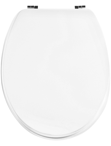 CORNAT WC-Sitz »LYON«, MDF, D-Form
