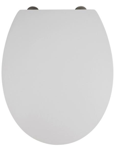 WENKO WC-Sitz »Mora«, Duroplast, oval, mit Softclose-Funktion