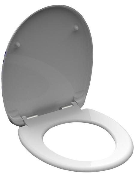 SCHÜTTE WC-Sitz »NORTH SEA« aus Duroplast,  oval mit Softclose-Funktion