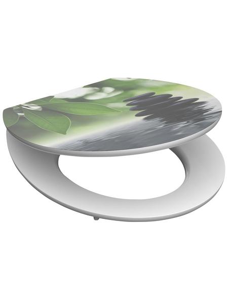 SCHÜTTE WC-Sitz »Oasis« mit Holzkern,  oval mit Softclose-Funktion