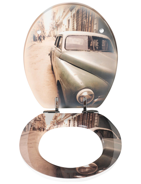 WENKO WC-Sitz »Old-Time«, Auto Absenkautomatik