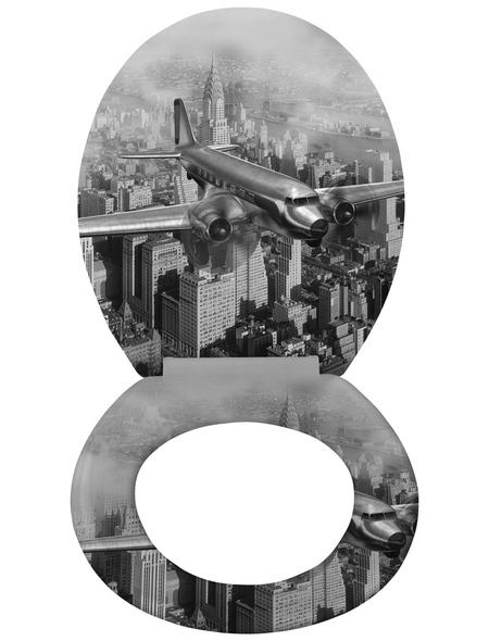 WENKO WC-Sitz »Old-Time«, Flugzeug