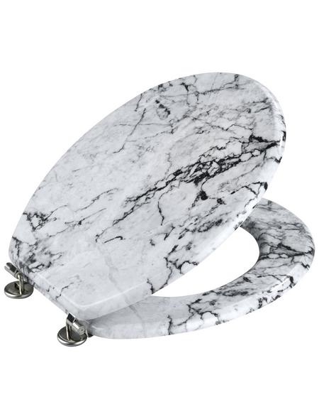 WENKO WC-Sitz »Onyx«, MDF, oval