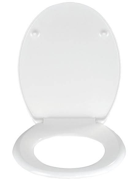 WENKO WC-Sitz »Orchid« aus Duroplast,  oval