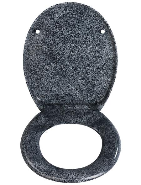 WENKO WC-Sitz »Ottana« aus Duroplast,  oval mit Softclose-Funktion