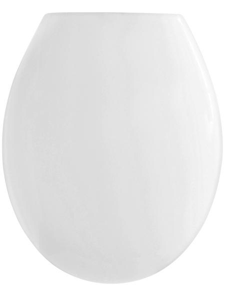 CORNAT WC-Sitz »PALU«, Thermoplast, D-Form