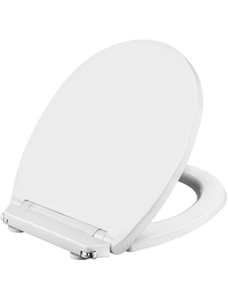 CORNAT WC-Sitz »PLANO«, Duroplast, oval, mit Softclose-Funktion