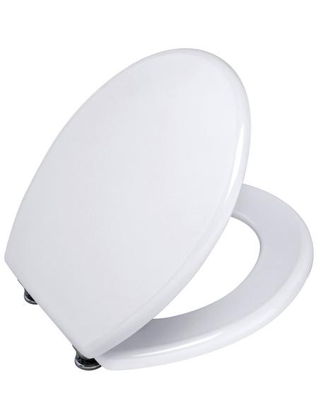 WENKO WC-Sitz »Prima« mit Holzkern,  oval