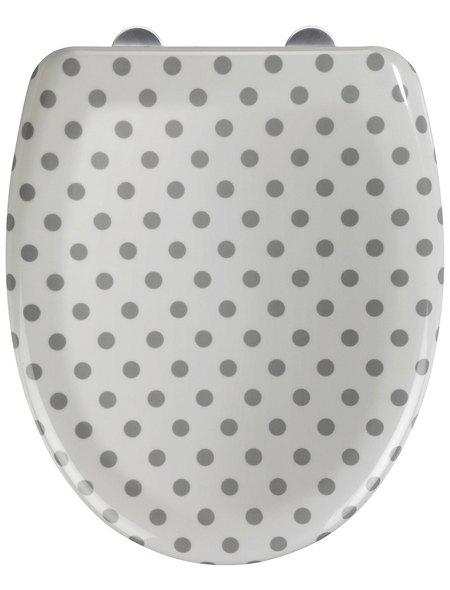 WENKO WC-Sitz »Punto«, Duroplast, oval, mit Softclose-Funktion