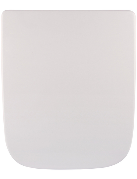 SANITOP-WINGENROTH WC-Sitz »Renova Nr. 1 Plan«, Duroplast, oval, mit Softclose-Funktion