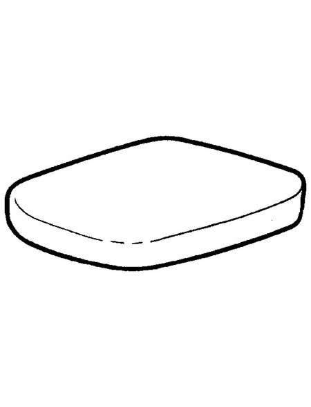 GEBERIT WC-Sitz »Renova Plan« aus Duroplast,  rechteckig