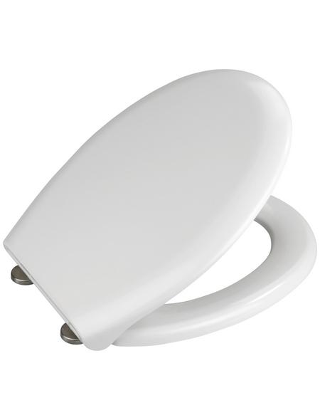 WENKO WC-Sitz »Rieti« aus Duroplast,  oval mit Softclose-Funktion