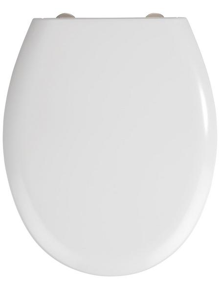 WENKO WC-Sitz »Rieti« Duroplast,  oval mit Softclose-Funktion