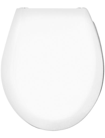 CORNAT WC-Sitz »RODA«, Duroplast, D-Form, mit Softclose-Funktion
