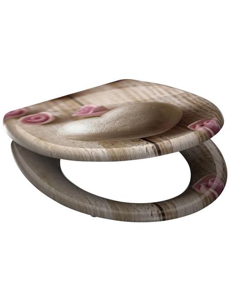 SCHÜTTE WC-Sitz »Romantic«, Duroplast, oval, mit Softclose-Funktion