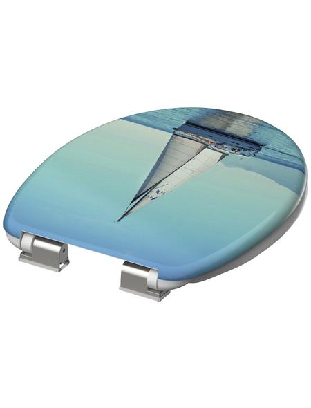 SCHÜTTE WC-Sitz »Sailing« aus Duroplast,  oval mit Softclose-Funktion