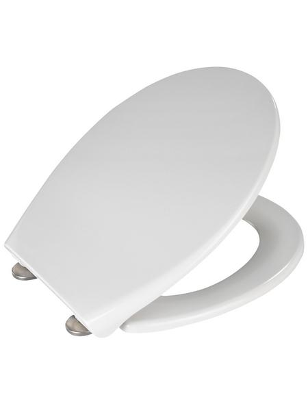 WENKO WC-Sitz »Samos«, Duroplast, oval, mit Softclose-Funktion