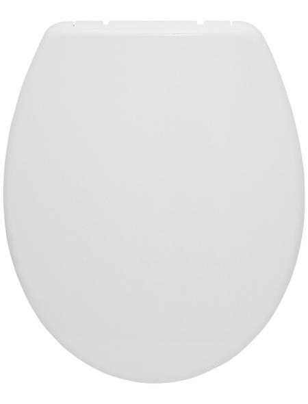 SANITOP-WINGENROTH WC-Sitz »San Sebastian«, Duroplast, oval