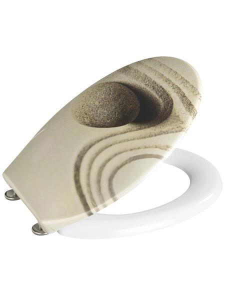 WENKO WC-Sitz »Sand and Stone«, Steine
