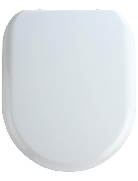 WENKO WC-Sitz »Santana«, Duroplast, D-Form, mit Softclose-Funktion