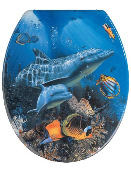 WENKO WC-Sitz »Sea Life«, Tiere