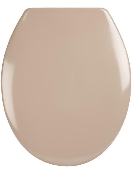 SANITOP-WINGENROTH WC-Sitz »Siena«, Duroplast, oval