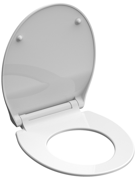 SCHÜTTE WC-Sitz »Slim White«, Duroplast,  weiß,  oval